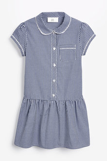 Next Drop Waist Gingham Dress (3-14yrs) - 267476
