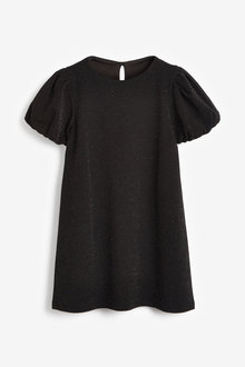 Next Sparkle Puff Sleeve Dress (3-16yrs) - 267520