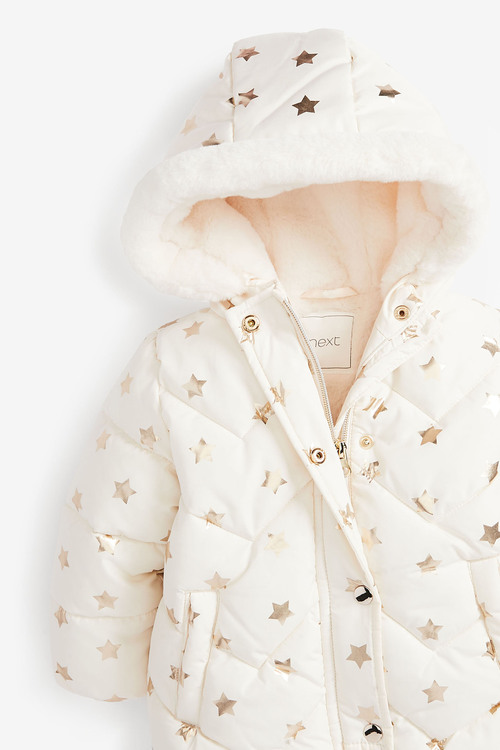 Next Star Print Padded Jacket (3mths-7yrs)