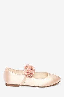 Next 3D Flower Ballet Shoes (Older) - 267561
