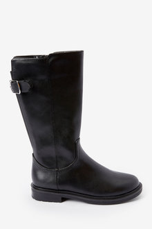 Next Tall Buckle Boots (Older) - 267578