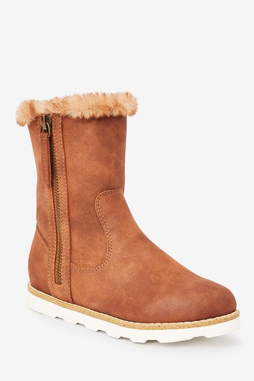 Next Faux Fur Lined Boots (Older)