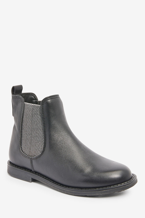 Next Premium Leather Chelsea Boots (Older)