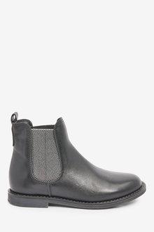 Next Premium Leather Chelsea Boots (Older) - 267582