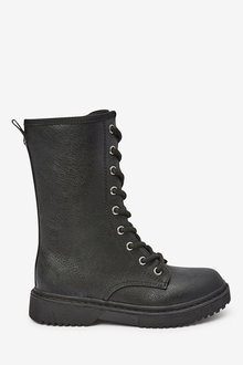 Next Lace-Up Mid Boots (Older) - 267589