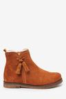 Next Premium Suede Tassel Boots (Older)
