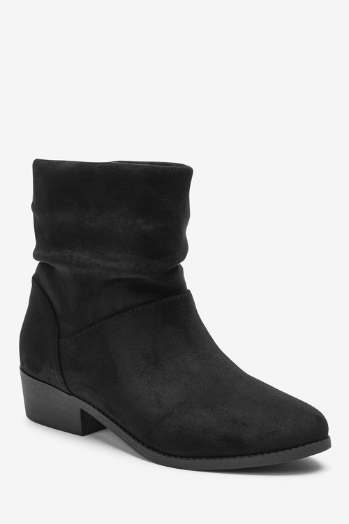 Next Heeled Slouch Ankle Boots (Older)