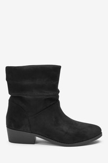 Next Heeled Slouch Ankle Boots (Older) - 267594