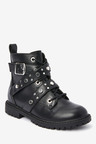 Next Lace-Up Studded Boots (Older)