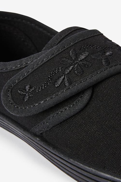 Next Embroidered Strap Plimsolls (Older)