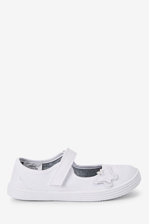Next Butterfly Embroidered Plimsolls (Older)