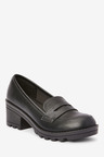 Next Chunky Heel Loafers (Older)
