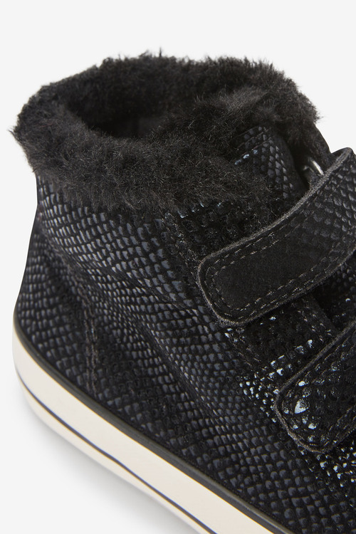 Next Touch Fastening Warm Lined Boots (Older)
