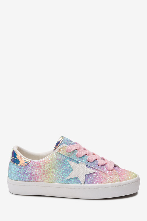 Next Star Lace-Up Trainers (Older)