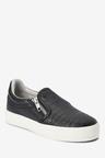 Next Croc Effect Skate Shoes (Older)
