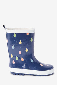 Next Colour Changing Raindrop Wellies (Older) - 267686