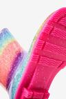 Next Rainbow Glitter Wellies (Older)