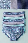 Next 7 Pack Floral Hipster Briefs (2-16yrs)