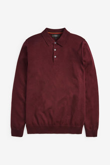 Next Knitted Polo - 267708