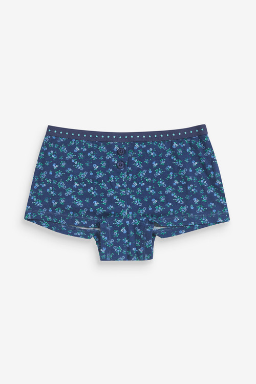 Next 5 Pack Floral Boxer Briefs (2-16yrs)