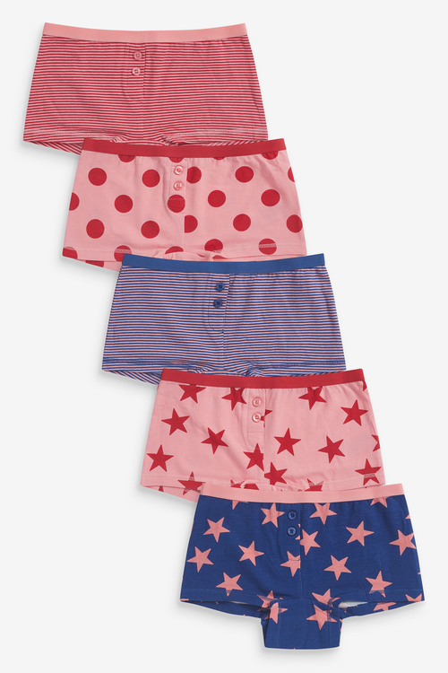 Next 5 Pack Boxers (2-16yrs)