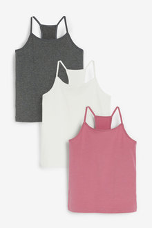 Next 3 Pack Racer Back Camis (1.5-16yrs) - 267726