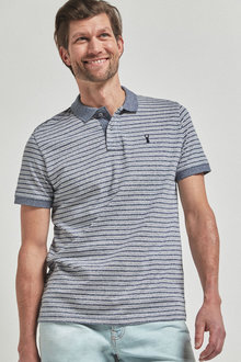 Next Organic Cotton Regular Fit Polo - 267794