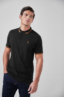 Next Stretch Tipped Polo-Regular Fit - 267797