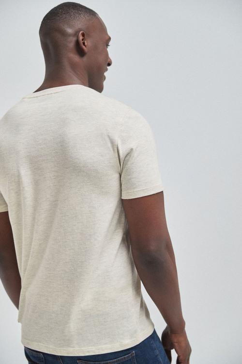 Next Regular Fit Stag T-Shirt