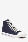 Next Stag Canvas High Top Trainers