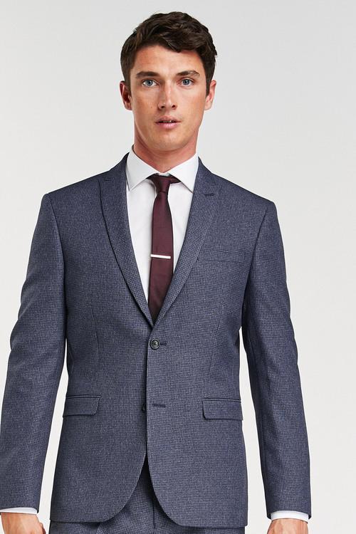 Next Puppytooth Suit: Jacket-Slim Fit