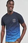 Next Dip Dye Graphic Regular Fit T-Shirt
