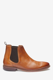 Next Leather Chelsea Boots - 267897