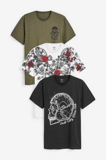 Next Graphic T-Shirts Three Pack - 267898
