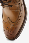 Next Modern Heritage Leather Brogue Boots