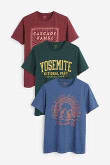 Next Graphic T-Shirts Three Pack - 267902