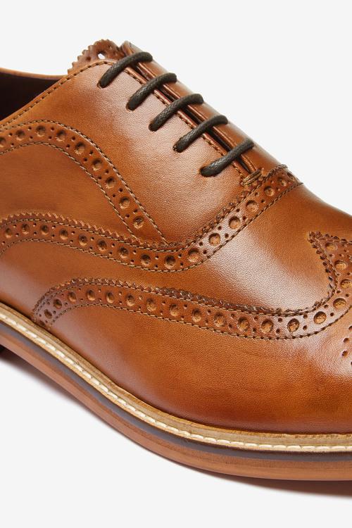 Next Signature Brogue Shoes