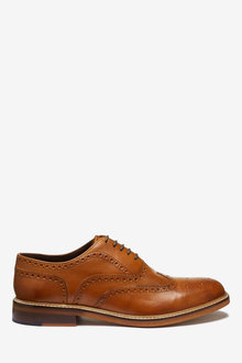 Next Signature Brogue Shoes - 267915