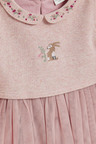 Next Bunny Embroidery Detailed Tutu Dress (0mths-2yrs)