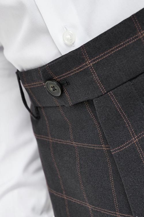 Next Check Suit: Trousers