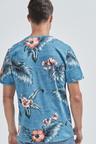 Next Floral Print Regular Fit T-Shirt-Regular