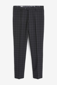 Next Check Suit: Trousers-Skinny Fit - 267959