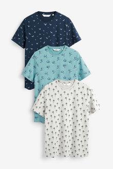 Next Pattern T-Shirts Three Pack - 267991