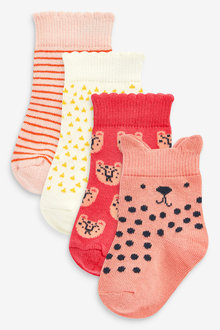 Next 4 Pack Character Socks (Younger) - 268009