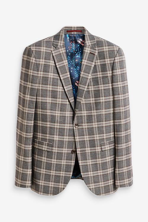 Next Slim Fit Suit: Jacket