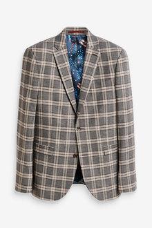 Next Slim Fit Suit: Jacket - 268029