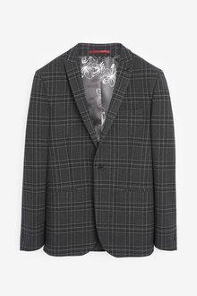 Next Bi-Stretch Check Suit: Jacket - 268032
