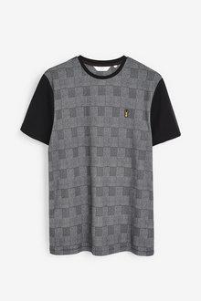 Next Check Block T-Shirt - 268043