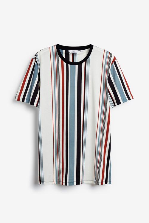 Next Vertical Stripe Regular Fit T-Shirt