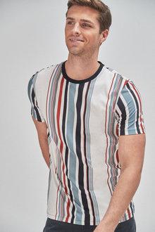 Next Vertical Stripe Regular Fit T-Shirt - 268051